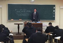 調理製菓専門学校での「公衆衛生学」の講義
